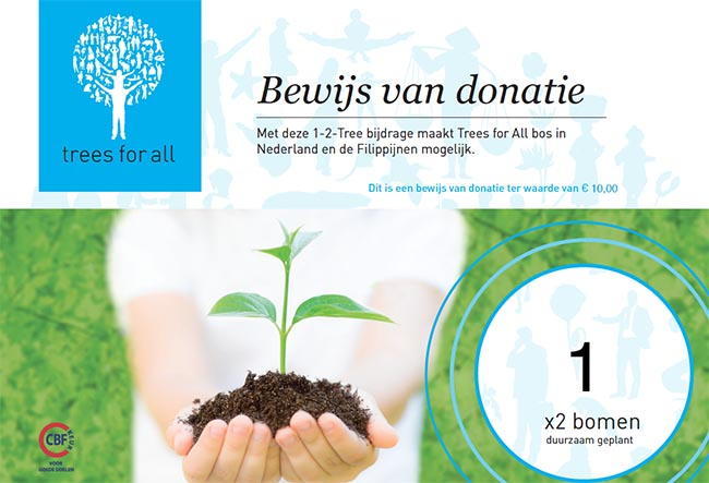bomen planten trees for all