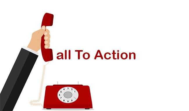 Call To Action belangrijk voor blog