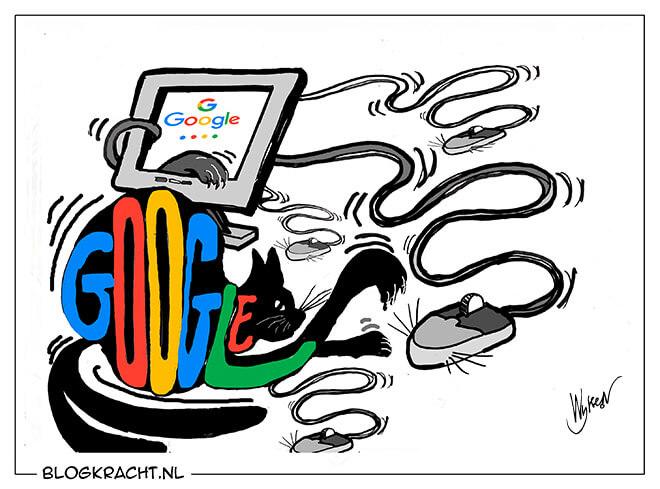 Kat-en-muisspel met Google