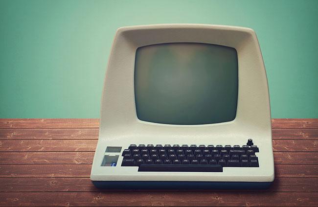 oude blogs oude computer