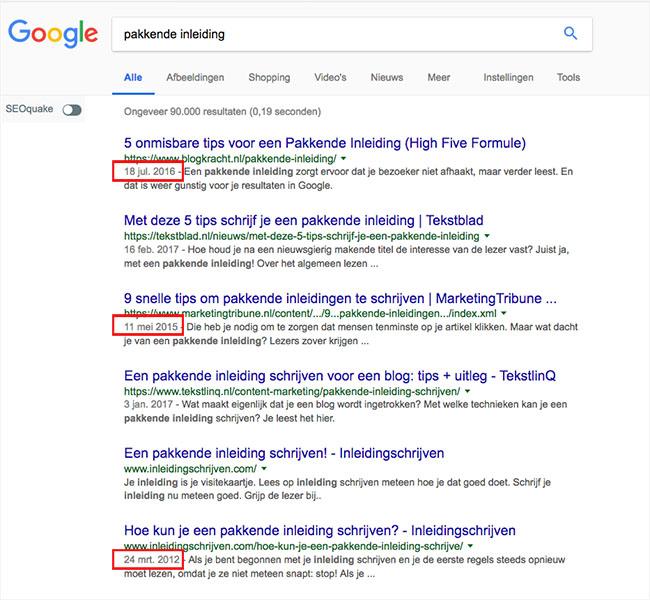 Schrijven voor Google – fabels en feiten